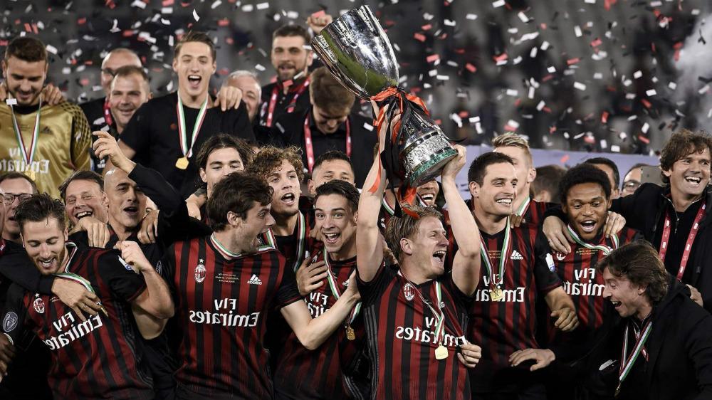 Milan juara Supercoppa Italiana